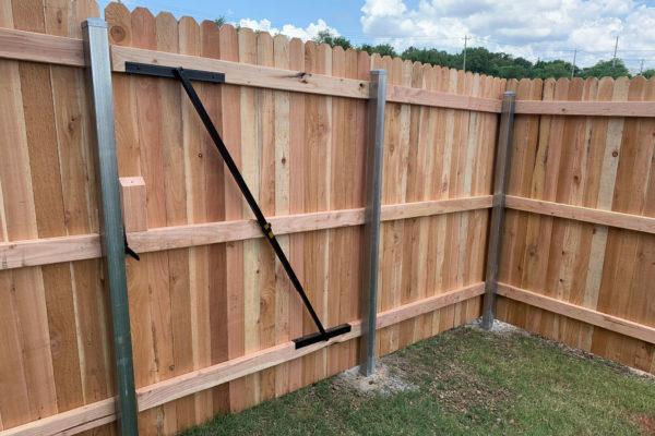 Privacy Fence Interior